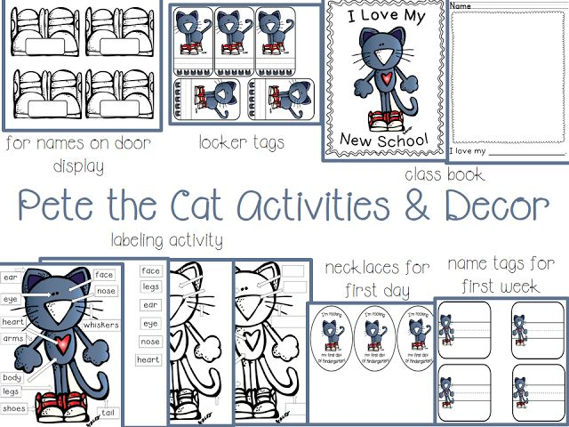 17 best images about pete the cat on pinterest activities little miss and cats