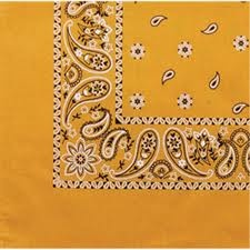 No wonder I've always loved bandanas! Not sure I ever noticed the paisley that's on the ones I have. Cool!