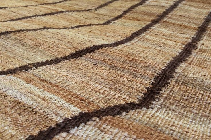 Intensity rug - Collection Y - the beautiful shades of natural jute