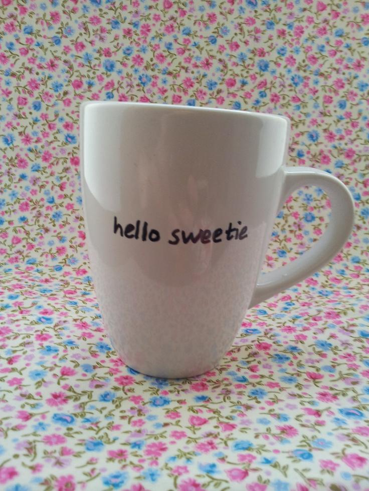 Yay Dr Who mug!