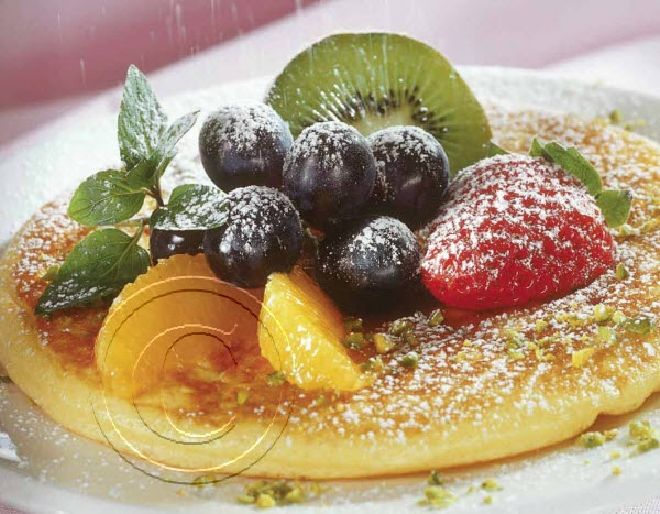 2014 Recipe Promotional Calendars - August 2014 -  Sunrise Pancakes (Serves 3 to 4)  Batter:  1½ cups [375 mL] all purpose flour  1 tsp [5 mL] salt  3 tbsp [45 mL] granulated sugar  2 tsp [10 mL] baking powder  1 cup [250 mL] milk  ¼ cup [50 mL] undiluted concentrated orange juice  2 eggs, beaten  3 tbsp [45 mL] unsalted melted butter  1 tbsp [15 mL] grated orange rind ... visit www.promocalendarsdirect.com/recipes for complete recipe.