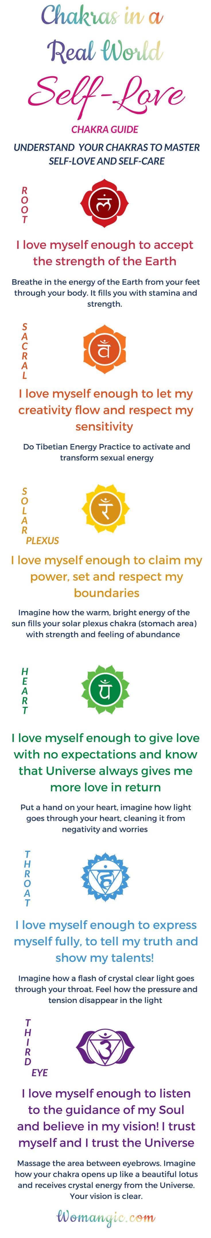 Self-love | Women self-love | Self-love help | Self love ideas | Self love meditation | Self care | Mindset | Positive | Mindfulness | Self care routine | Self care ideas. Chakra, Chakra Balancing, Root, Sacral, Solar Plexus, Heart, Throat, Third Eye, Crown, Chakra meaning, Chakra affirmation, Chakra Mantra, Chakra Energy, Energy, Chakra articles, Chakra Healing, Chakra Cleanse, Chakra Illustration, Chakra Base, Chakra Images