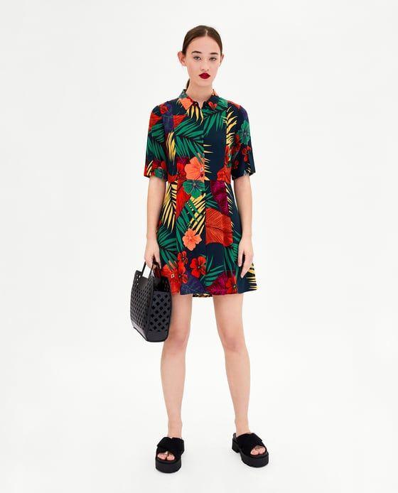 Vestido Pinterest Vestidos 2019 Flores En Camisero List Wish gfSgwFq