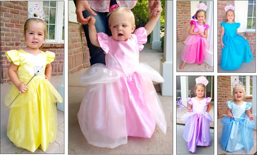 This is the MOST perfect princess dress pattern that I have ever seen--it is absolutely adorable