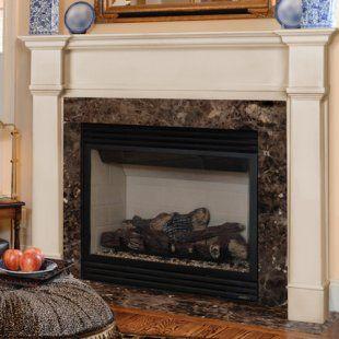 Pearl Mantels Richmond Wood Fireplace Mantel Surround