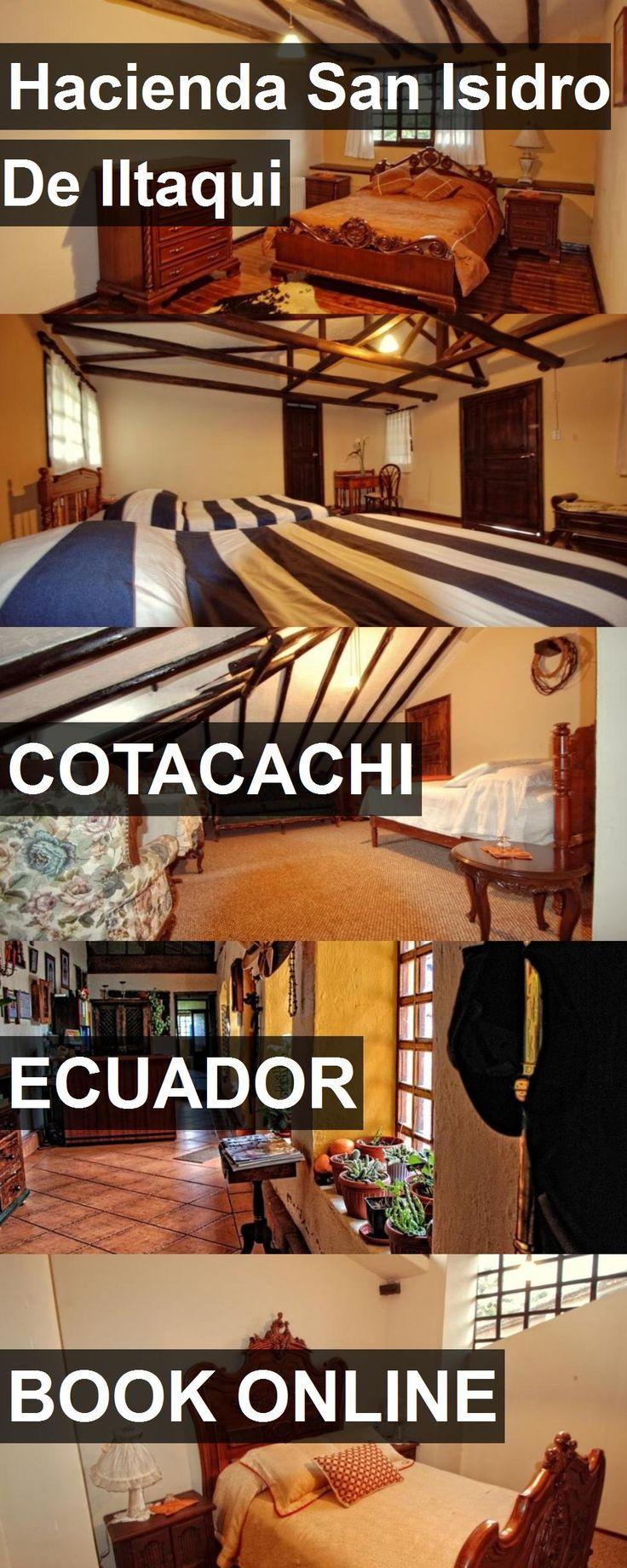 Hotel Hacienda San Isidro De Iltaqui in Cotacachi, Ecuador. For more information, photos, reviews and best prices please follow the link. #Ecuador #Cotacachi #travel #vacation #hotel