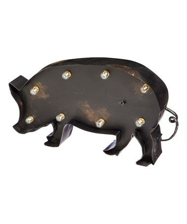Another great find on #zulily! Big Pig LED Tabletop Décor #zulilyfinds