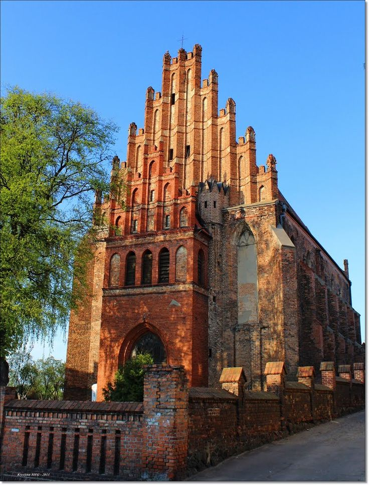 Chełmno.Kościół  św. Piotra i Pawła