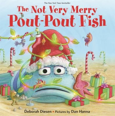 The not very merry pout-pout fish by Deborah Diesen. (New York : Farrar Straus Giroux, 2017). Mr. Fish is having a hard time finding the right presents for his friends, until he learns that the best gifts come from the heart.