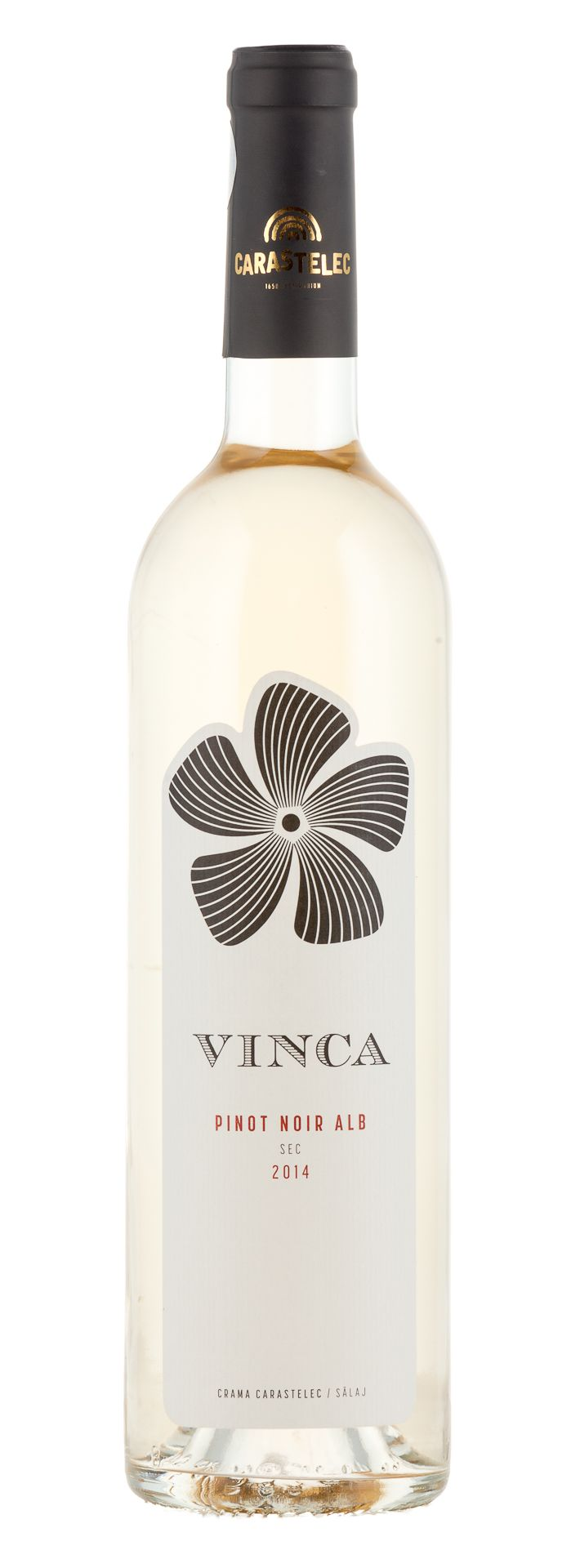 Blanc de Noir from Carastelec Winery 2014  #carastelec #winery #pinot noir #blanc de noir #romania #salaj #sparkling #vinca #friza