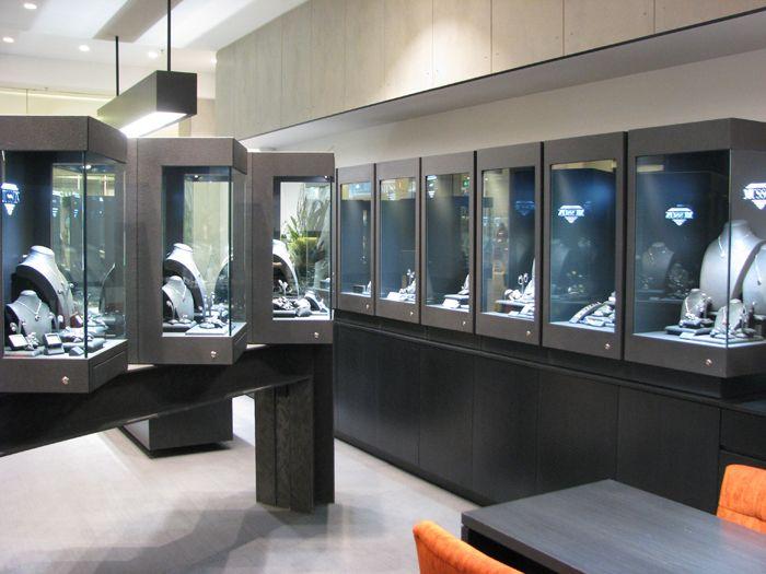 Musson Jeweller, Chatswood  www.fisherfitouts.com.au