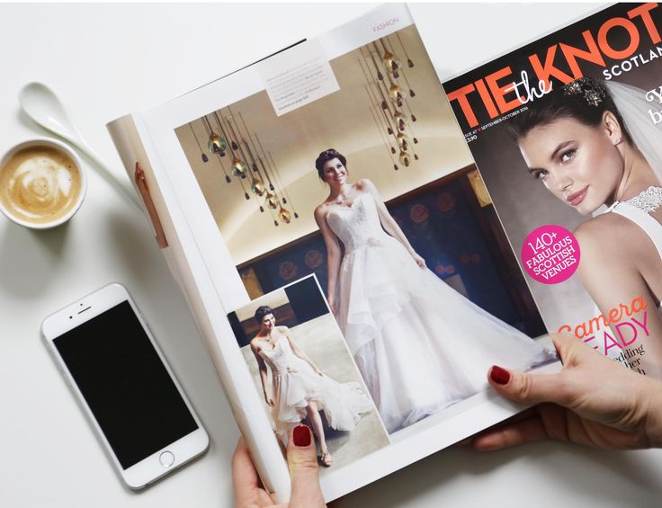 Short and long, romantic and modern at the same time... A sweet break with this beautiful transformable Nicole dress. Also discover it on www.nicolespose.it. Thanks to Tie The Knot Scotland Magazine! #NicolePressReview
