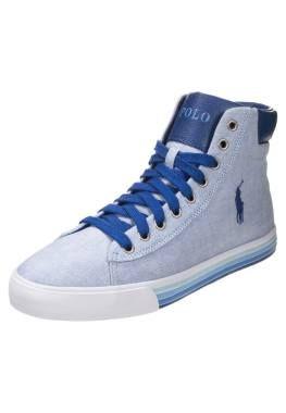 Polo Ralph Lauren Harvey Mid Zapatillas Altas Blue zapatillas hombre bambas deportivas Zapatillas Ralph polo Mid Lauren Harvey Blue altas CentralModa.eu