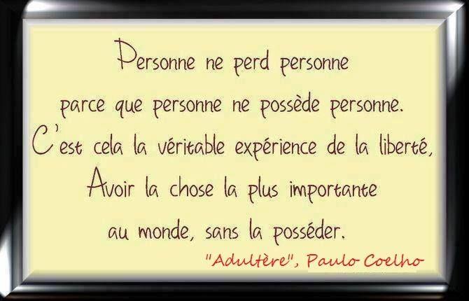 """Paolo Coelho, """"Adultère"""""""
