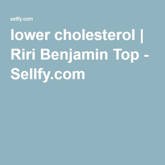 lower cholesterol | Riri Benjamin Top - Sellfy.com
