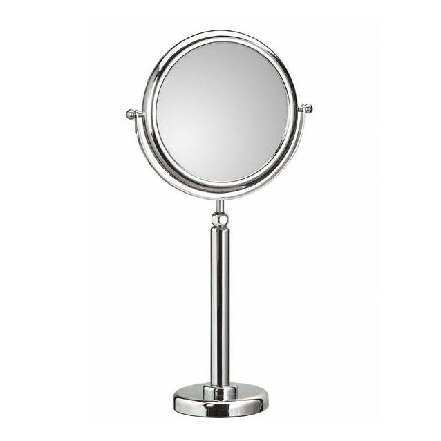 Gallery For Photographers Fantastic high end modern designer free standing reversible bathroom magnifying mirror