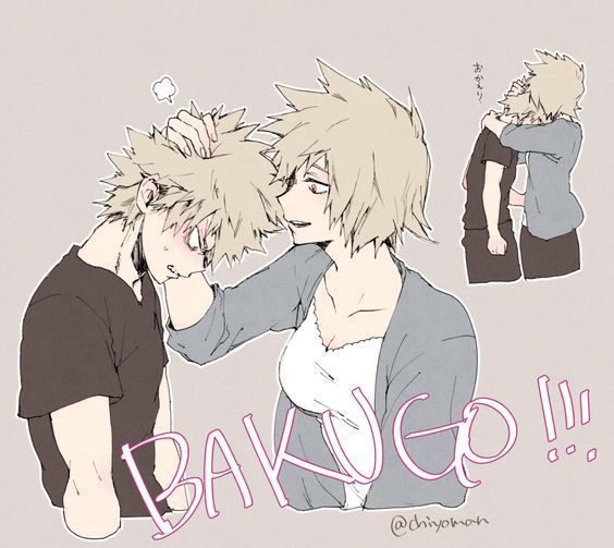 Bakugou X Reader Family