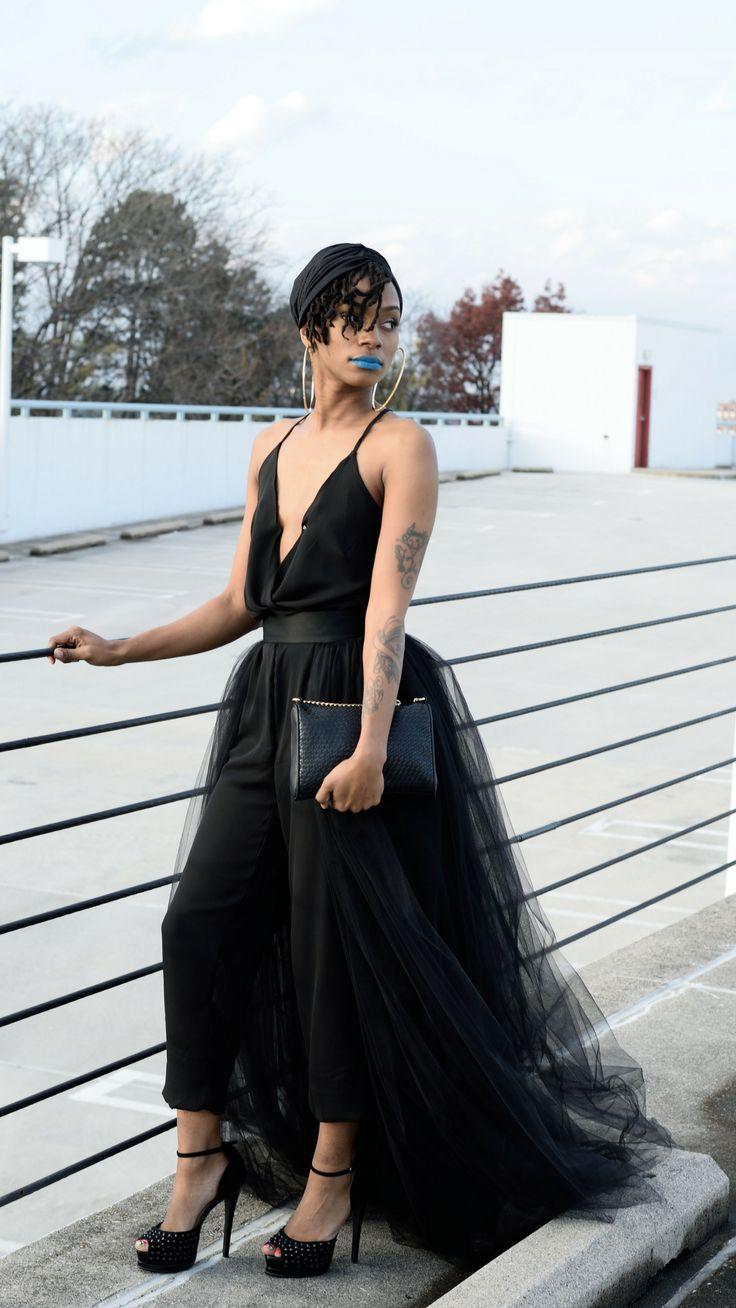 Black tulle overskirt tulle overlay skirt detachable