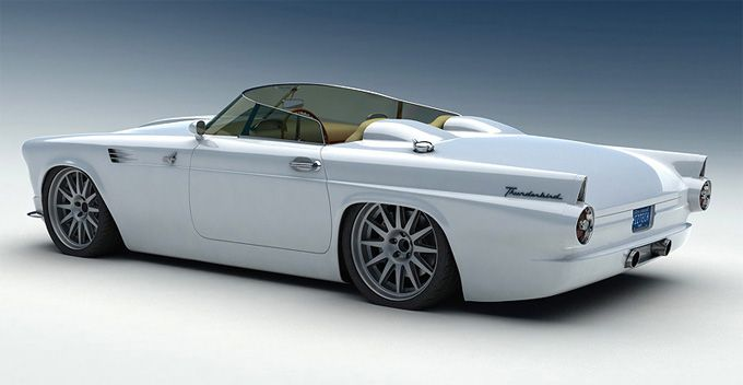 1955 Custom Ford T-Bird  #RePin by AT Social Media Marketing - Pinterest Marketing Specialists ATSocialMedia.co.uk