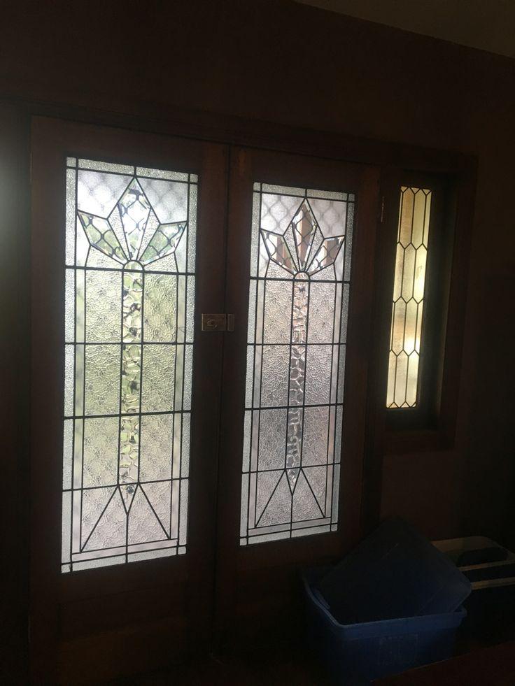 Leadlight doors