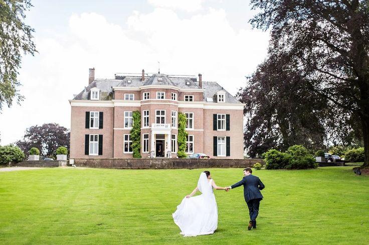 Trouwen bij Landgoed Rhederoord in De Steen bij Arnhem. Bruidsfotografie door trouwfotograaf Dario Endara Wedding Photography