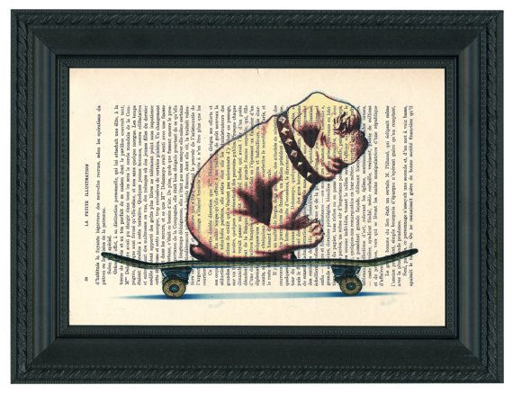 DECORATIVE Art BULLDOG Wall Hanging English by GitaneFromParis, €6.00  This is so cool