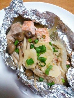 焼き 魚 フライパン ホイル