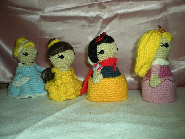 Amigurumi Disney Princess : 17 Best images about Handmade Disney and Disney Crafts on ...