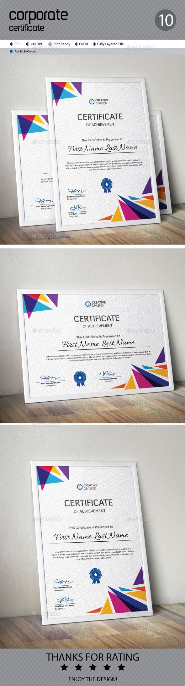 Certificate Template Vector EPS. Download here: http://graphicriver.net/item/certificate/12006895?ref=ksioks