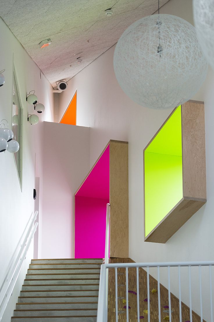 Ama'r Children's Culture House in Copenhagen, Denmark, by Dorte Mandrup Architects, 2013 Photograph by Torben Eskerod