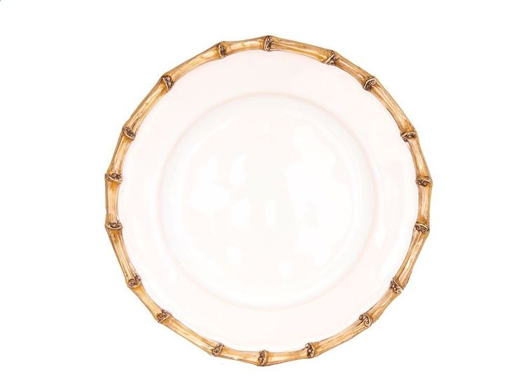 Juliska Classic Bamboo Natural Side Plate - Set of 4 #Juliska