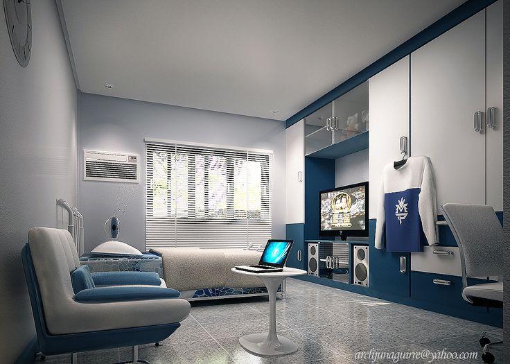 Blue white varsity