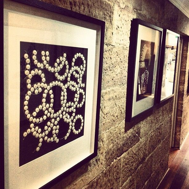 ~ Textiles and texture ~ Our Designer Boys artwork on display at Cosmostyle Sydney last night. These pieces are hand embellished in a variety of frame options. Contact us for more info enquiries@boydblue.com #boydblue #designerboys #art #artwork #textiles #texture #beading #sydney #interiors #interiordesign