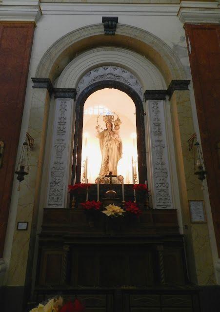 Palermo ...: Chiesa di Santa Maria della Mercede al Capo- Cappella della Madonna della Mercede