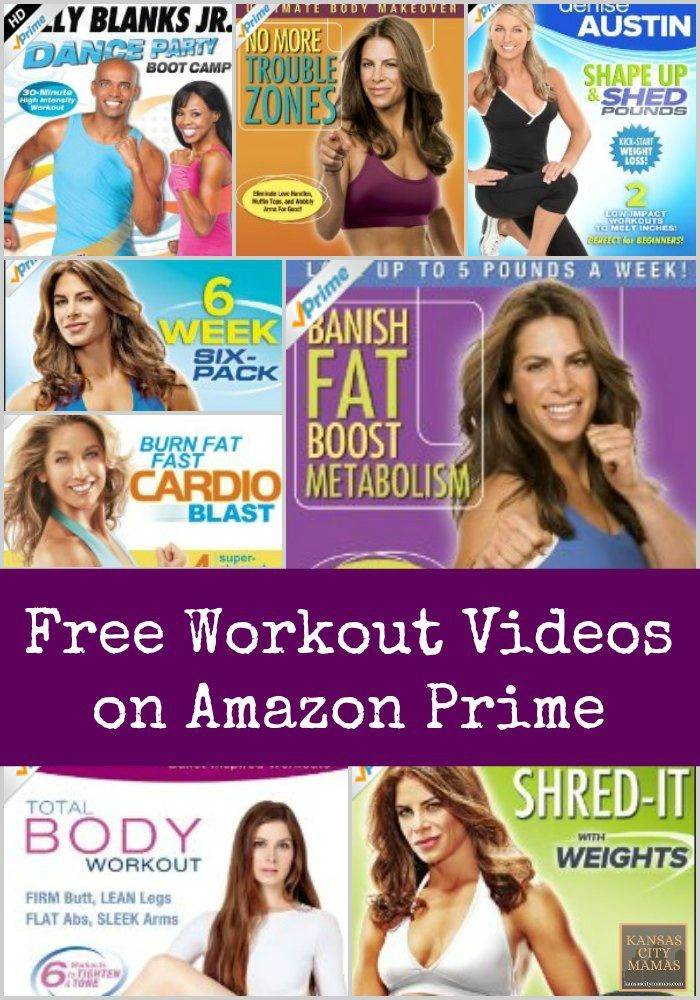 Free Workout Videos On Amazon Prime