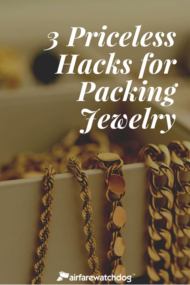 Travel Guide: Packing Jewelry