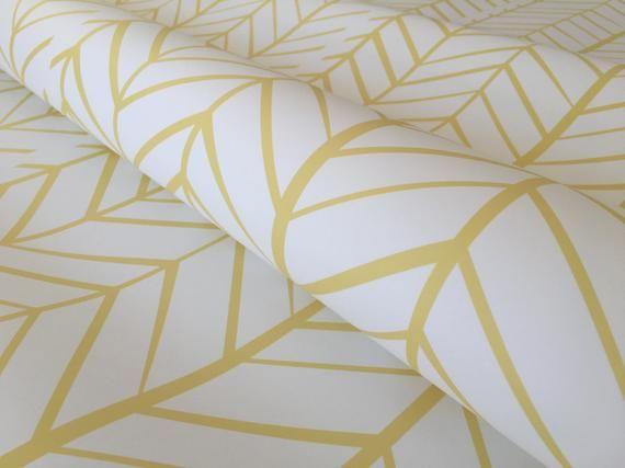 Removable Wallpaper Peel And Stick Wallpaper Herringbone Wallpaper Yellow Wallpaper Nursery Wallpaper Nursery Decor Self Adhesive Herringbone Wallpaper Peel And Stick Wallpaper Removable Wallpaper