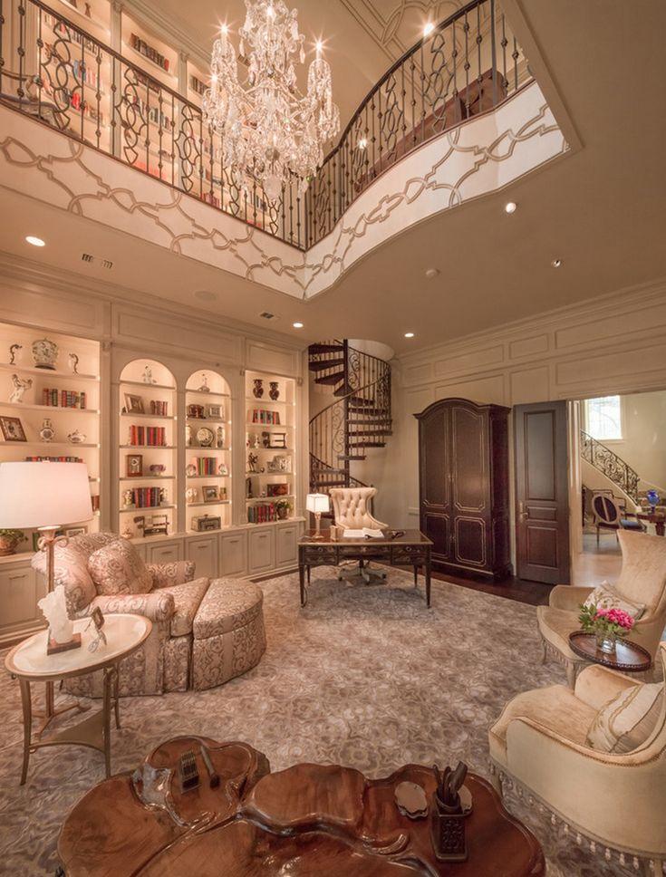 731 best elegant opulant home interiors made for - Home office interior design ...