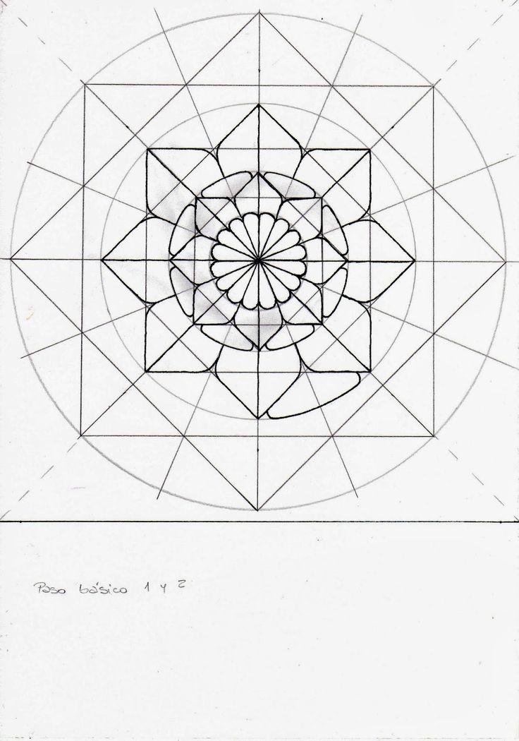 18 mejores imgenes de Mandalas en Pinterest  Dibujos Dibujo y
