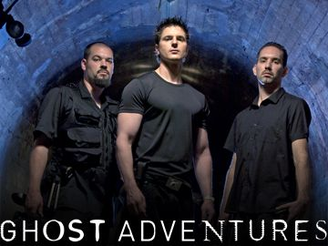 These guys are so cheesy...but I watch anyway.....Ghost Adventures (Official Site)
