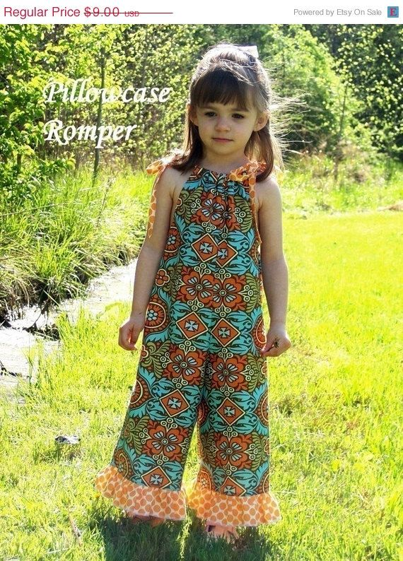 40% Off Pillowcase Romper Sewing Pattern preemie by whimsycouture