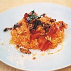 Risotto with pumpkin. A Jamie Oliver recipe, made this last week, it's delicious.