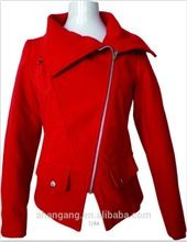 2015 fashion red woolen overcoat short overcoat for women  Best Buy follow this link http://shopingayo.space