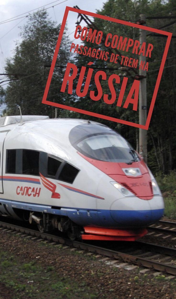Saiba como comprar passagens de trem na #Russia. #viagem Europa