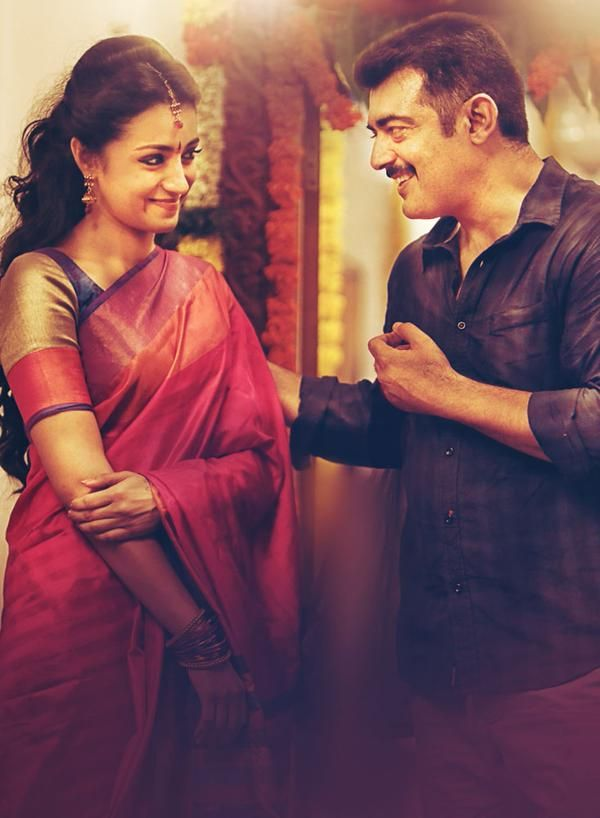 Ajith, Trisha and Anushka starrer Yennai Arindhaal directed by Gautham Vasudev Menon and Music by Harris Jayaraj.