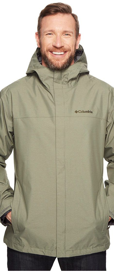 Columbia Big Tall Diablo Creek Rain Jacket (Cypress) Men's Coat - Columbia, Big Tall Diablo Creek Rain Jacket, 1714054-316, Apparel Top Coat, Coat, Top, Apparel, Clothes Clothing, Gift - Outfit Ideas And Street Style 2017