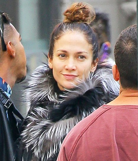 Jennifer Lopez Goes Without Makeup, Looks Just as Gorgeous - Us Weekly