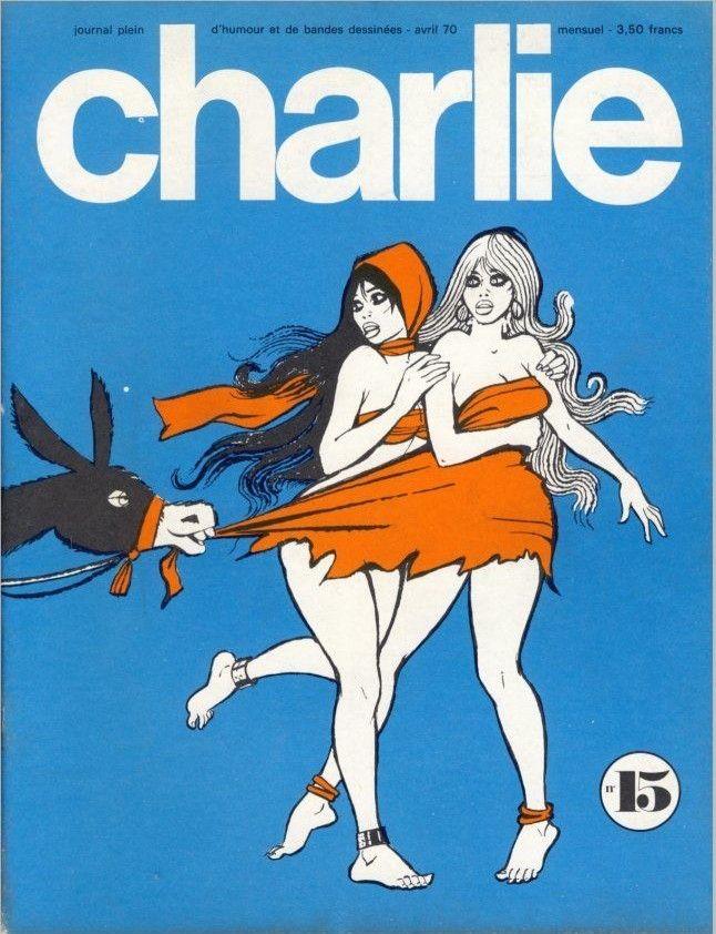 Charlie Mensuel - # 15 - Avril 1970 - Couverture de Pichard