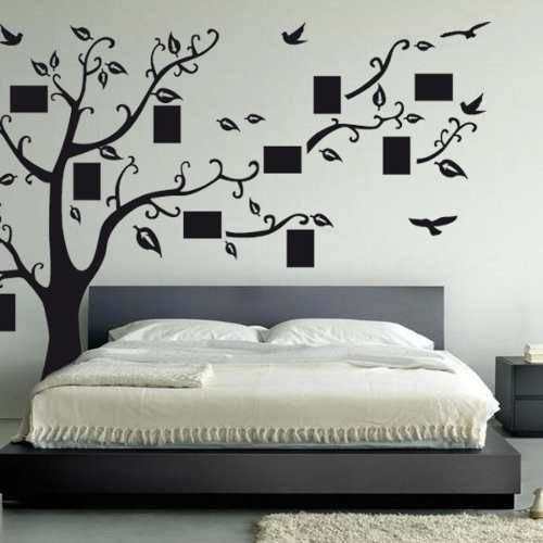 M s de 25 ideas incre bles sobre decorativos para la pared for Pegatinas pared dormitorio