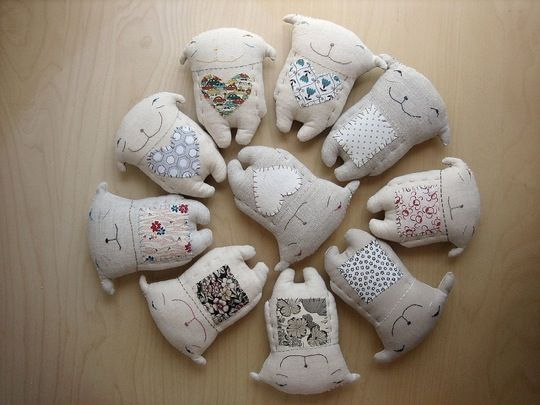 cutest handmade dolls!